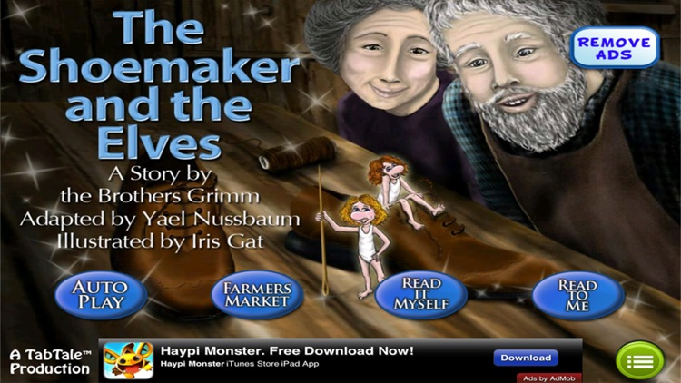 The Shoemaker &  the Elves