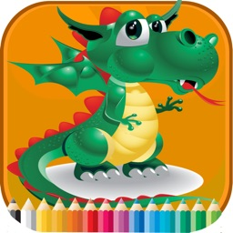 Dinosaurs2 Coloring Book - Activities for Kid