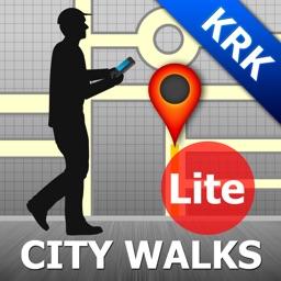 Krakow Map and Walks