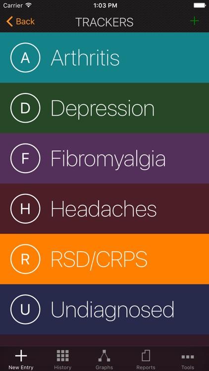My Pain Diary & Symptom Tracker: Gold Edition screenshot-3