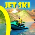 3D喷气滑雪驱动器Sim Rings水戏剧 icon