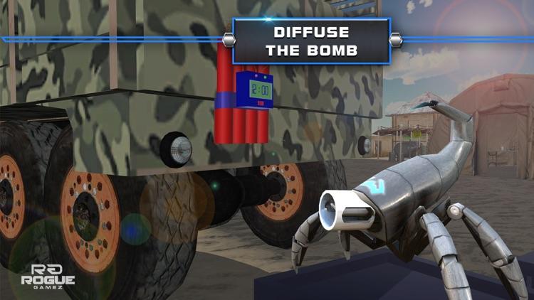 Robot Squad Stealth Operation– Spy Drone Simulator screenshot-3