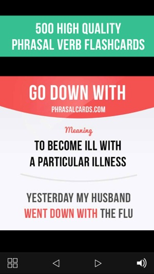 English Phrasal Verbs Cards on the App Store