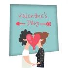 バレンタイン フォト フレーム、愛フレームのコラージュ icon