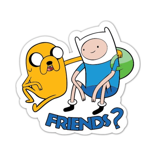 Adventure Time Stickers By 108 By Mojilala