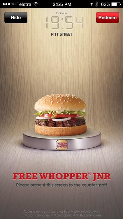 Hungry Jack's® Shake & Win App