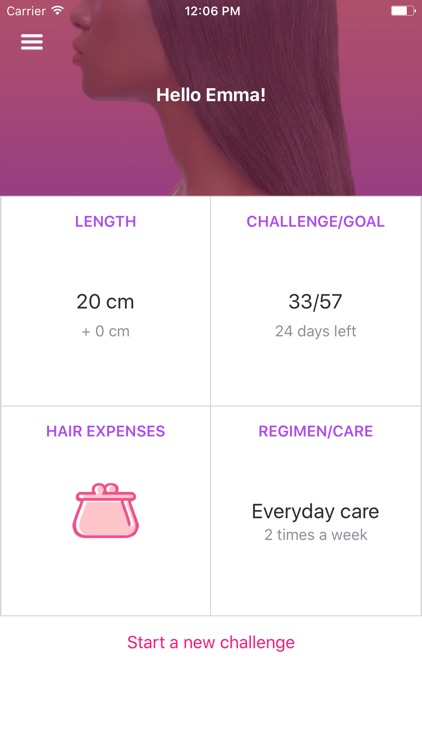 AppFrolution - My Hair Diary