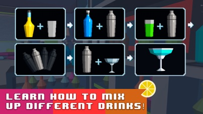 Bartender Simulator: Mix Delicious Drinks screenshot two