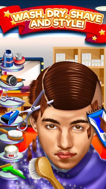 Kids Shave Salon Celebrity Games (Girls & Boys) screenshot-3