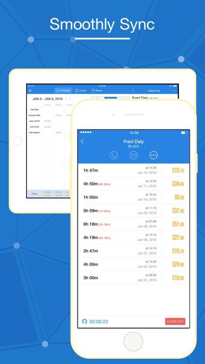 Hours Keeper - Time Tracking, Timesheet & Billing screenshot-4