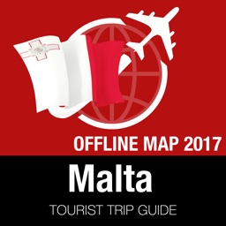 Malta Tourist Guide + Offline Map