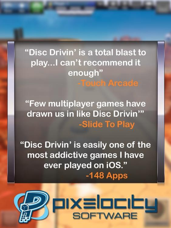 Disc Drivin' HD screenshot-4