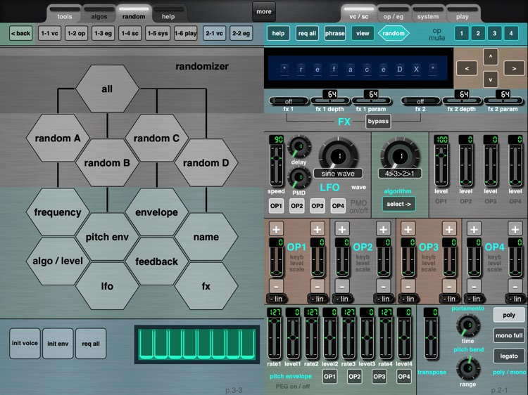 MDDX1 for the Yamaha reface DX screenshot-4