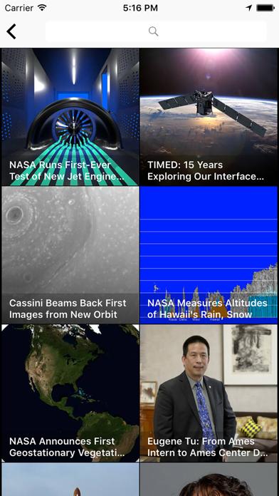 Screenshot 4 for NASA.gov's iPhone app'
