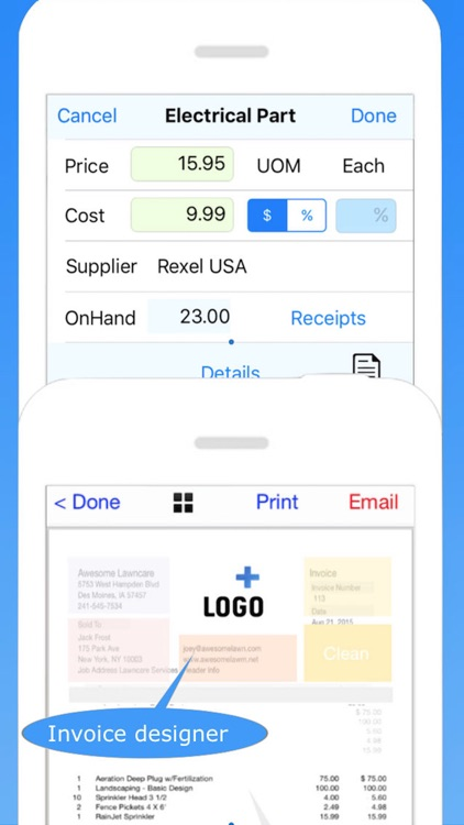 Service Call Pro Invoicing, Estimates & Scheduling screenshot-3
