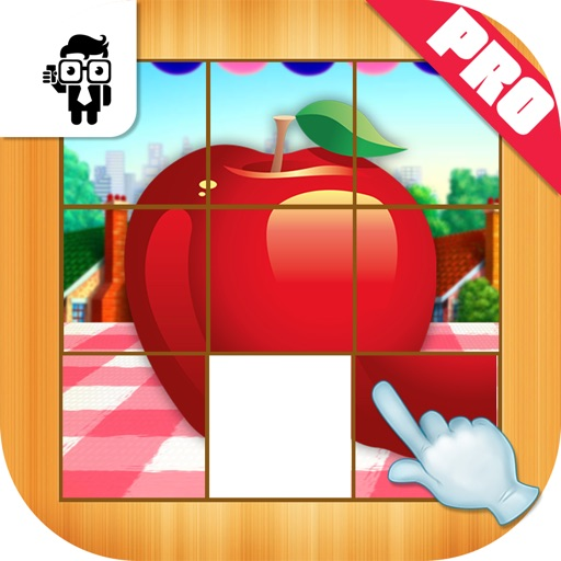 Fruit Slide Puzzle Kids Game Pro