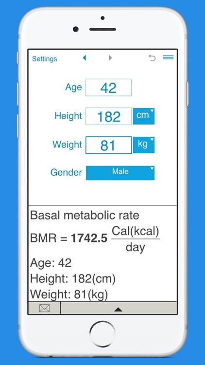 Smart BMR Calculator screenshot-3