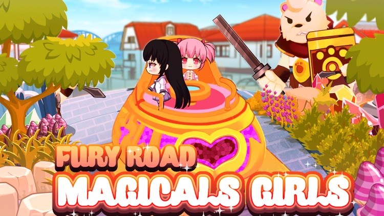 Magic Girls Shooter & Killing Monster Games