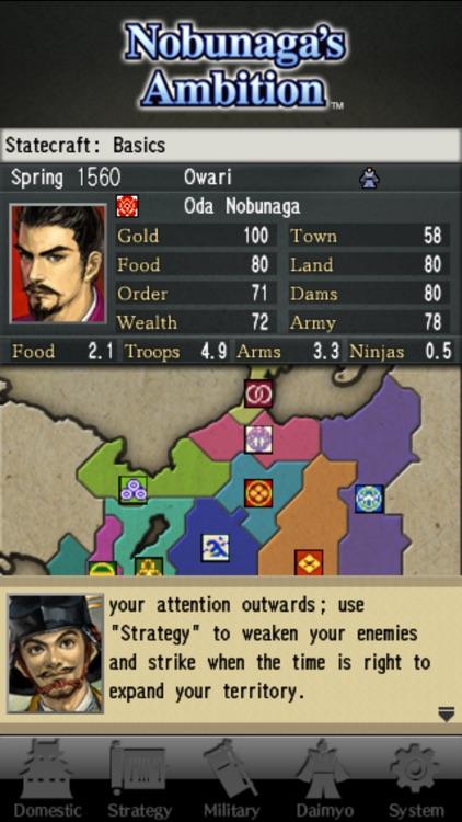 Nobunaga's Ambition screenshot-4