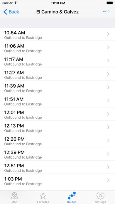 San Jose Transit review screenshots
