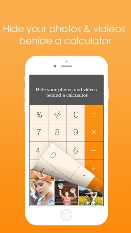 Calculator+Lock Photo Vault secret,Hide Video Safe