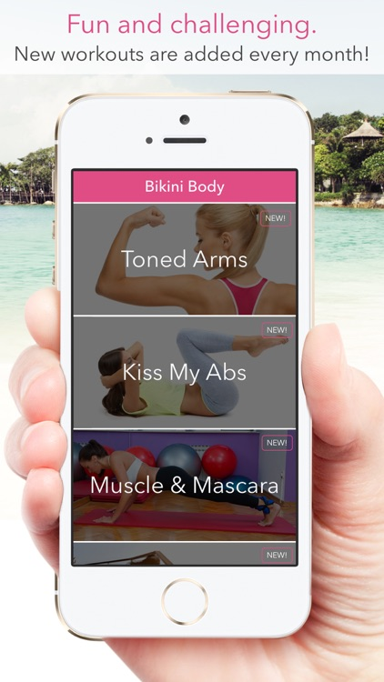 Bikini Body: Workouts for Women! screenshot-4