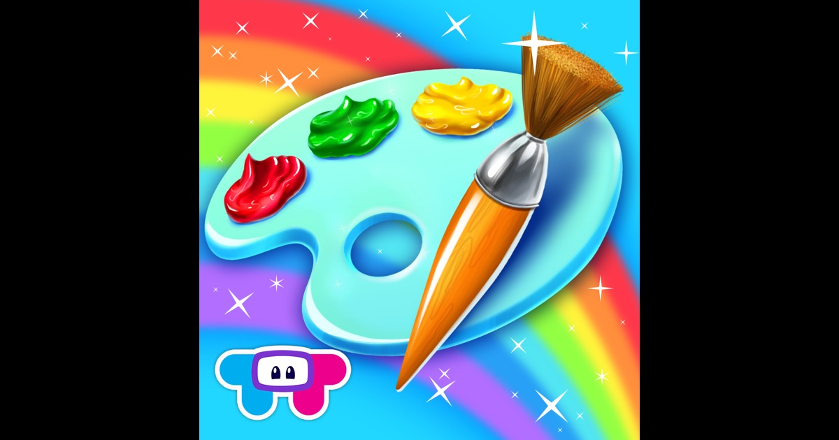 Paint Sparkles Draw My First Coloring Book Hd On The