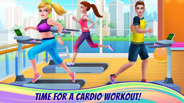Fitness Girl - Studio Coach screenshot-4