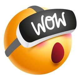 My Virtual Sticker   VR Emoji mit Google Cardboard