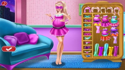 Pregnant women SPA - Princess dress up girls games screenshot three