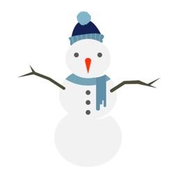 Snowman stickers by Onur Ünal