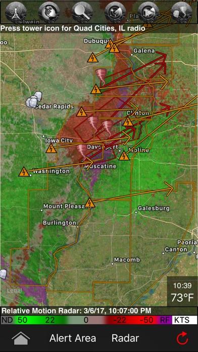 download TornadoSpy+: Tornado Maps, Warnings and Alerts apps 4