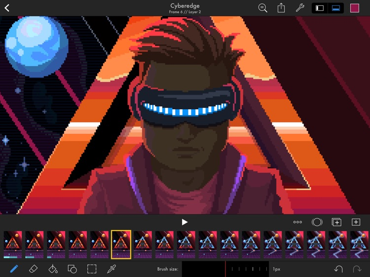 Pixaki – Pixel art studio screenshot-0