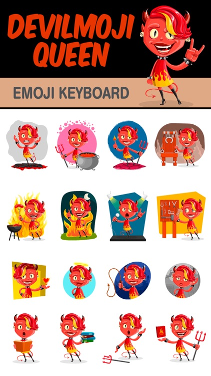 DevilMoji - Queen Edition screenshot-1