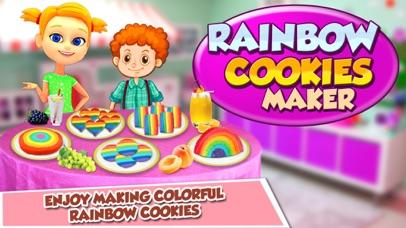 Rainbow Cookie Maker - Rainbow Desserts Cookies screenshot one