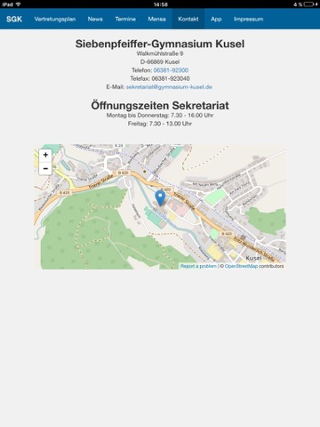 SGK - Schulapp Gymnasium Kusel screenshot 3