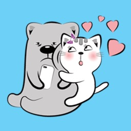 Cat and Bear Lovely