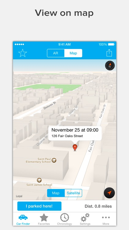 Find Your Car with AR: Augmented Car Finder screenshot-3