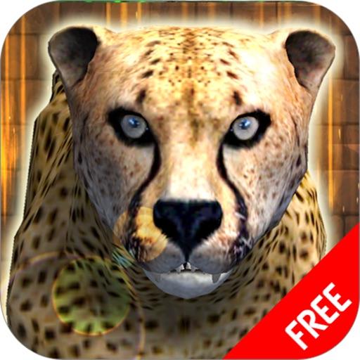 дикий гепард Симулятор игры - Животные выживание