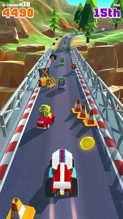 Blocky Racer - Endless Arcade Racing