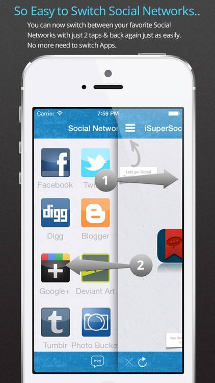 iSuperSocial screenshot-1