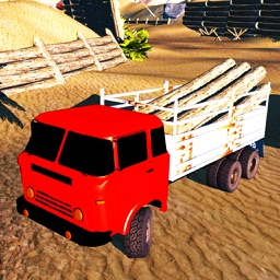 Offroad 6x6 Cargo Trailer Transport Simulator