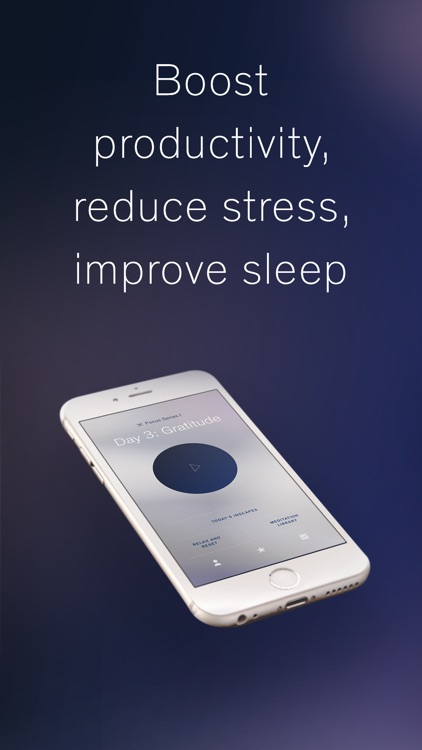 Inscape: Guided Meditation, Mindfulness & Sleep screenshot-1