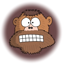 Grumpy Monkey Stickers