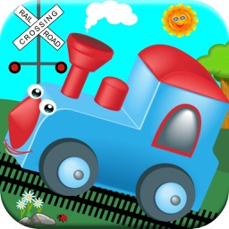 Train Games For Kids! Dinosaur, Zoo Toddler Trains