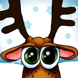 Xmas Reindeer Stickers
