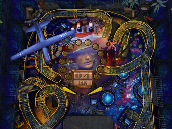 War Pinball HD на iPad