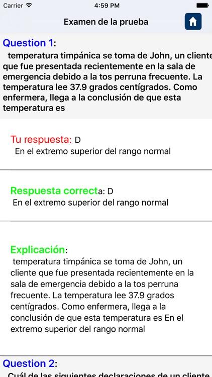 Fundamentals of Nursing in spanish screenshot-4
