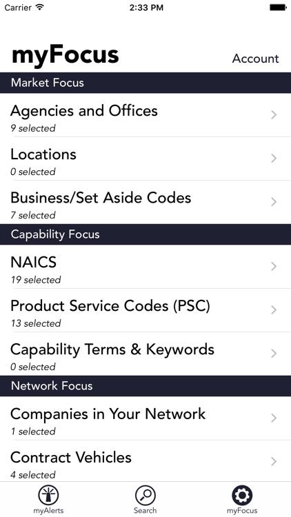 myFedBeacon for FBO.gov screenshot-4