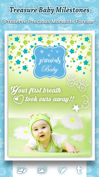 Baby Photo Shoot : Beautify Baby Milestones & Pics screenshot-3
